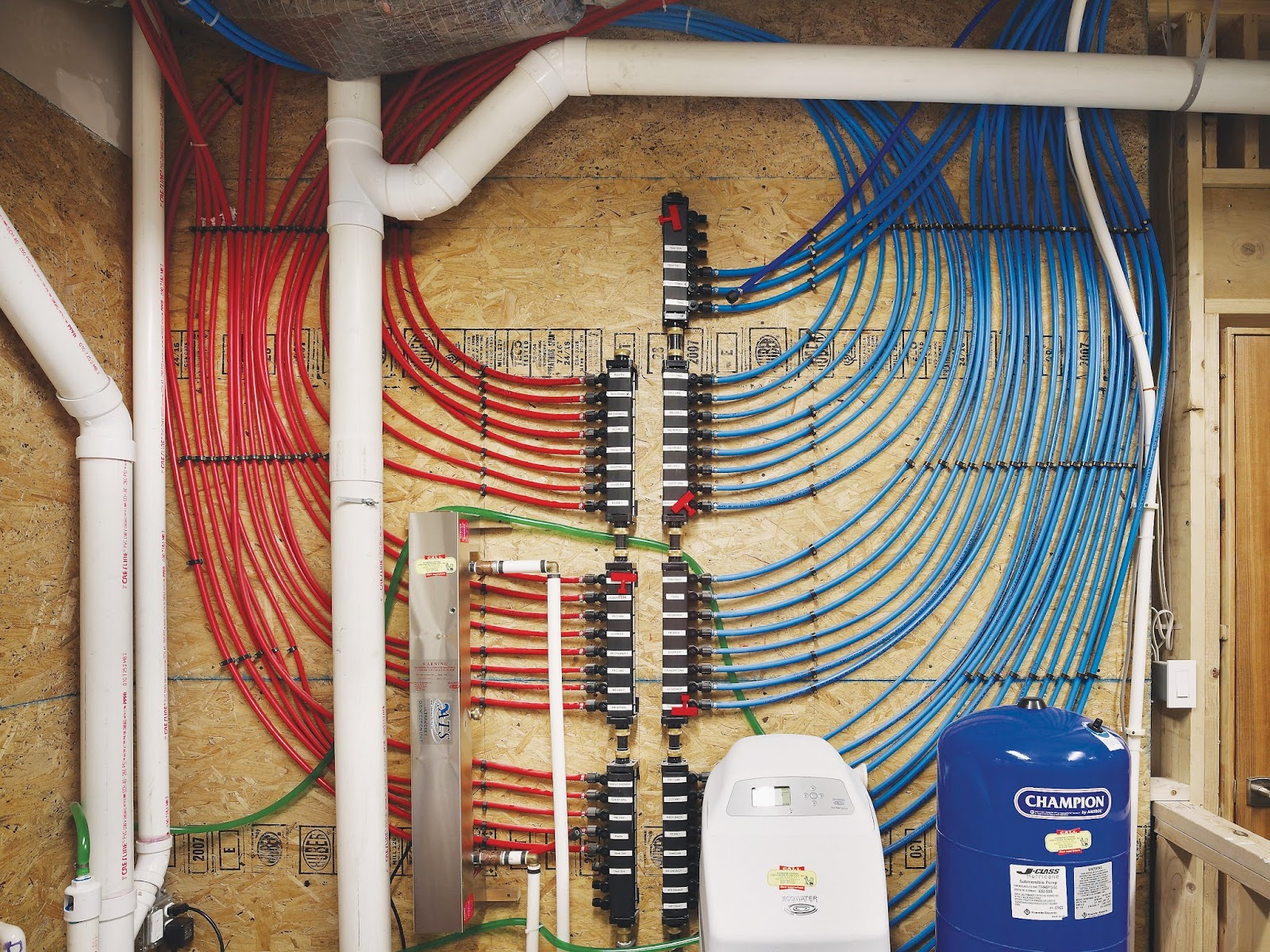 pex plumbing diagram mains smoke alarm wiring rehoboth farm diy a product review