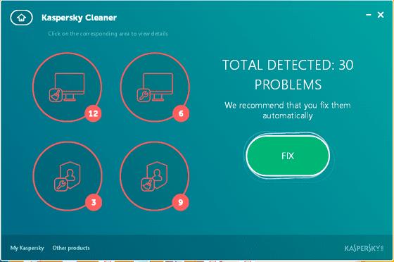برنامج تنظيف و تحسين أداء الكمبيوتر Kaspersky Cleaner
