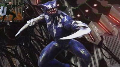 Spiderman con los simbiontes