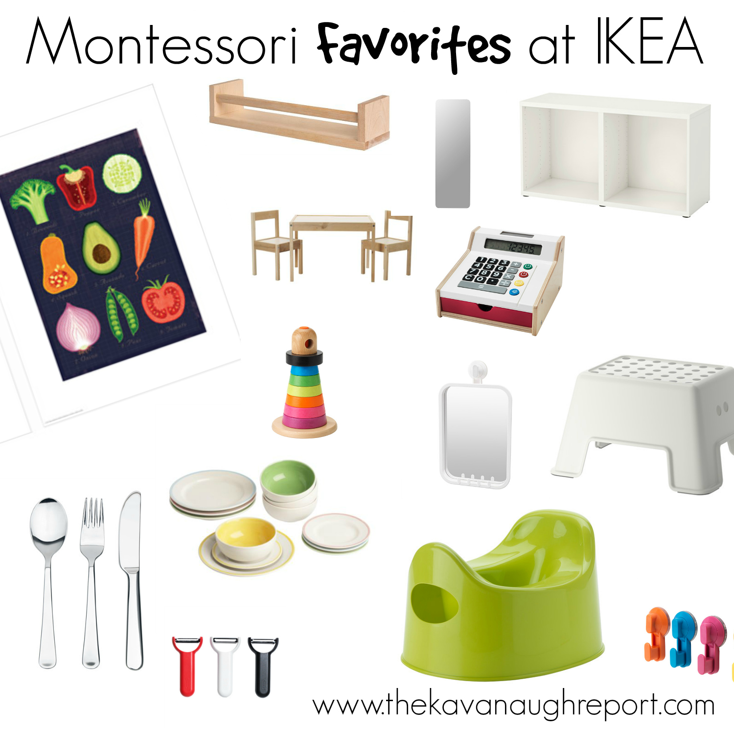 open kitchen ideas photos - My Montessori Favorites at IKEA