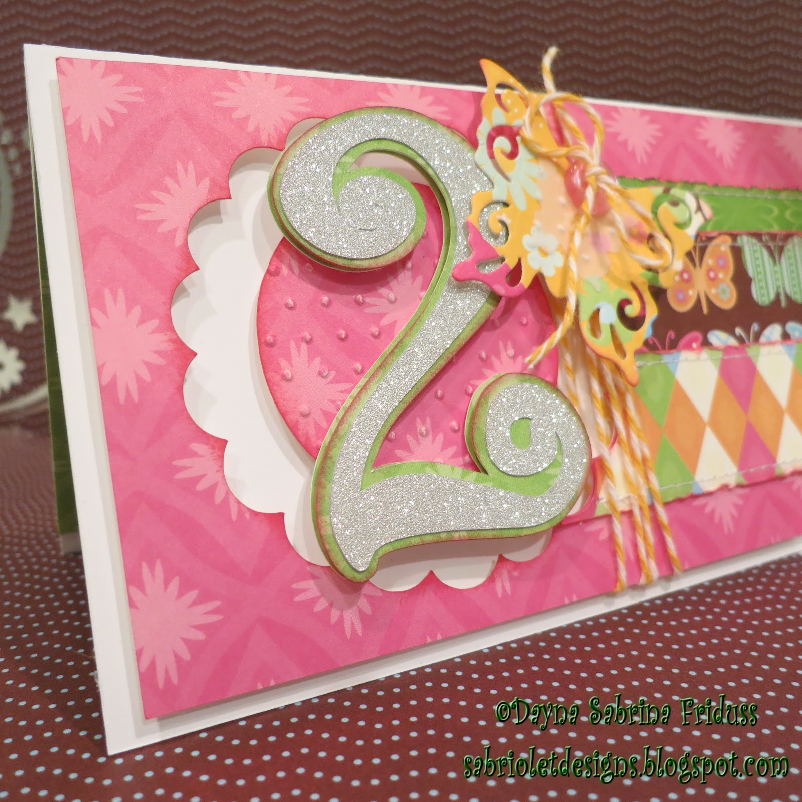 Sabriolet Designs: Happy 2nd Birthday