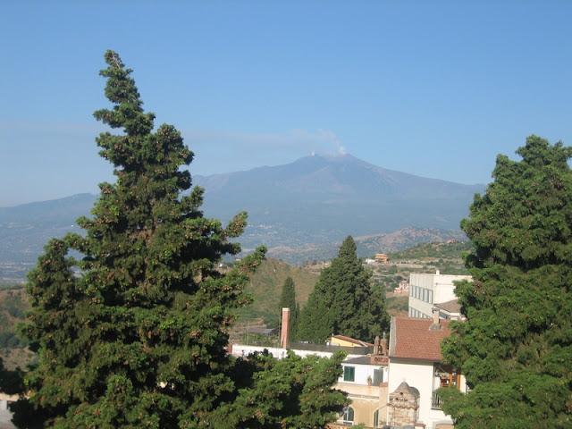 Taormina - Vista del Etna