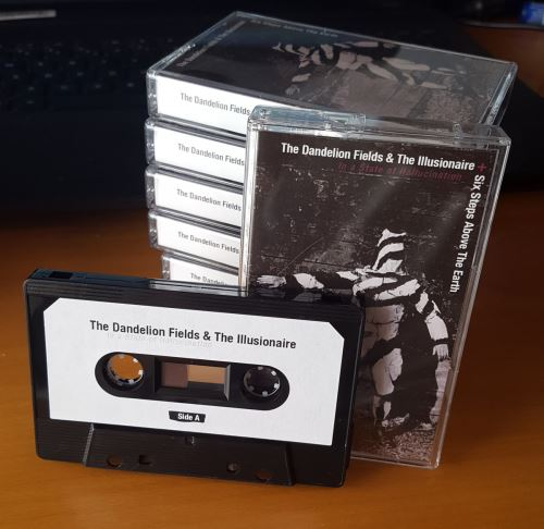 """In A State Of Hallucination"":  Limited edition split cassette απο τους The Dandelion Fields και Six Steps Above The Earth"