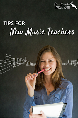 Tips for new music teachers: Perfect read with great advice for teachers new to music education or education in general!