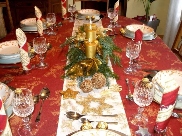 consejos decorativos para la mesa de navidad revista tendenciadeco. Black Bedroom Furniture Sets. Home Design Ideas