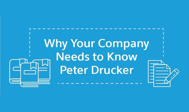 Why Your Company Needs to Know Peter Drucker