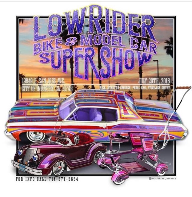 Upcoming Event Lowrider Bike Model Car Supershow Scale Riders - San diego lowrider car show 2018