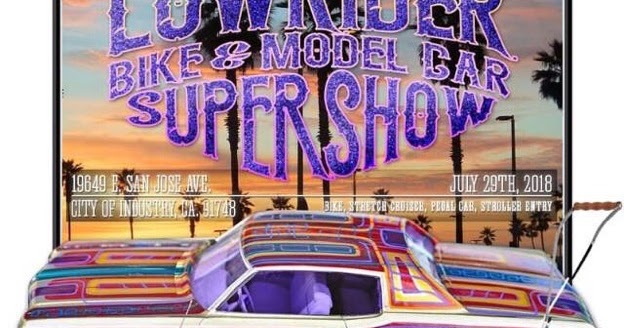 Upcoming Event Lowrider Bike Model Car Supershow Scale Riders - Lowrider car show los angeles 2018