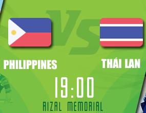 Trực tiếp Philippines vs Thái Lan AFF CUP Ngày 23/11/2016