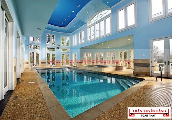 Mẫu trần bể bơi hiện đại 5