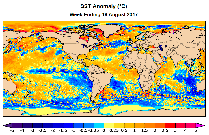 In Tandem With The Clear Trend Towards More La Nina Like Conditions The Leading Seasonal Computer Models Have Shifted Quite Dramatically Towards A La Nina