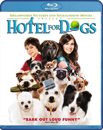 Hotel For Dogs 2009 Dual Audio Hindi 480p BluRay 300mb