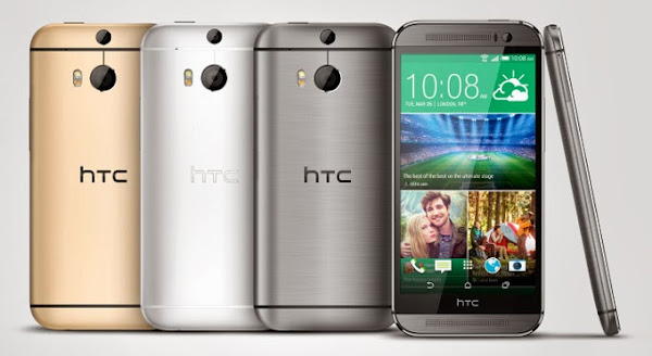 HTC One M8 colors