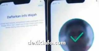 pengaktifan kunci face unlock Realme android
