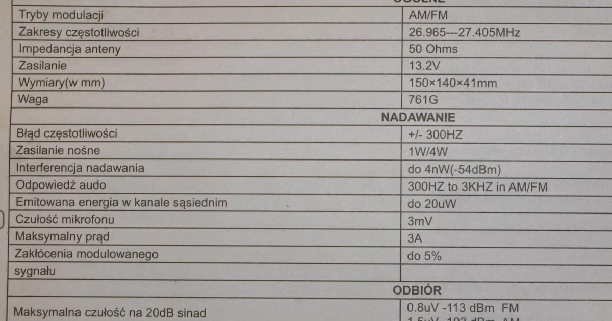 SQ5EKU: CB RADIO OV-DELTA