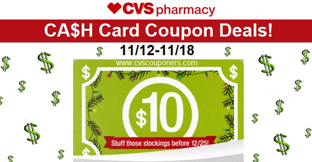 CVS CA$H Card