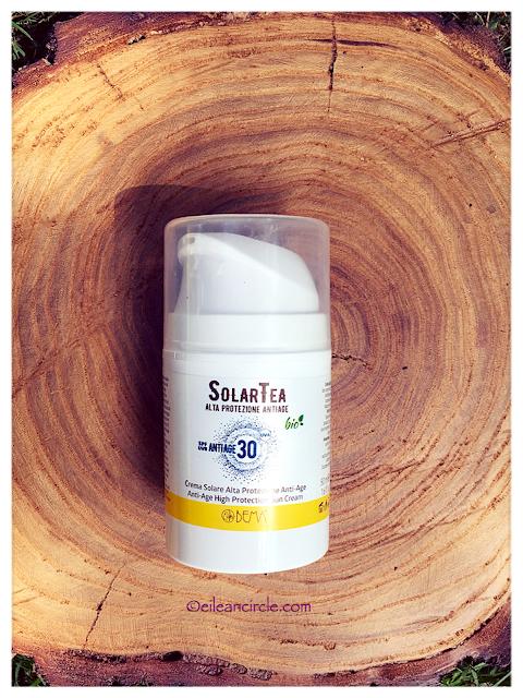 Protector solar, Solar Tea, cosmética natural, filtro mineral, Bema Cosmetici