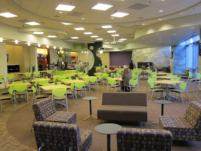 Taco Bell HQ Dining Room