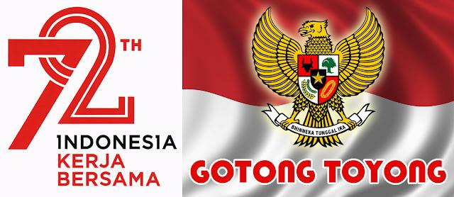 Logo dan Tema Hari Kemerdekaan ke-72 Tahun 2017 Lengkap