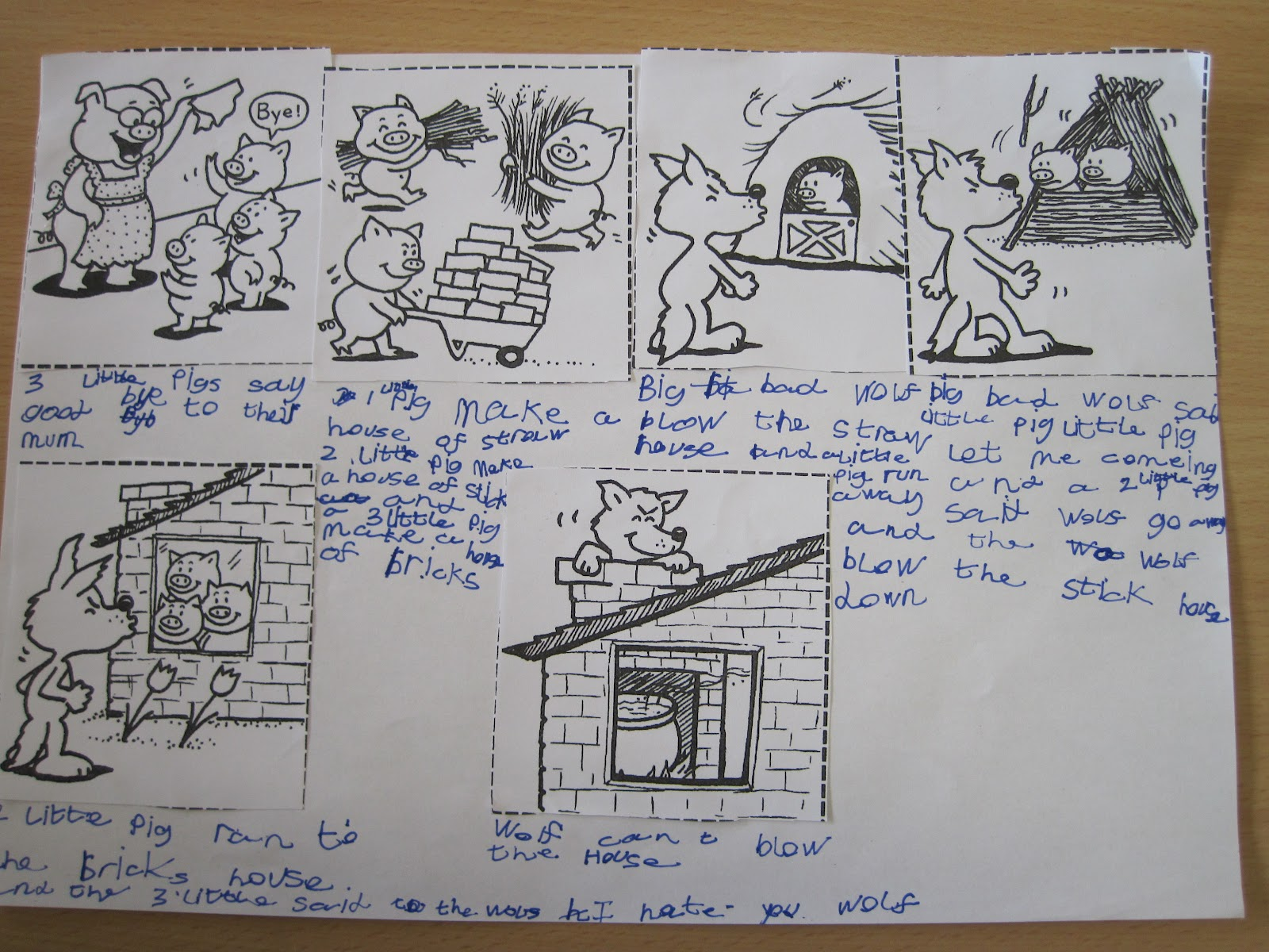 Lyndon Green Junior Forest School The Three Little Pigs