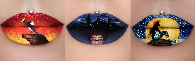 Lip art @missjazminad