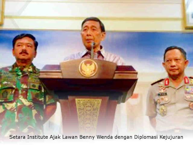 Wiranto Pastikan Kondisi Papua dan Papua Barat Sudah Kondusif