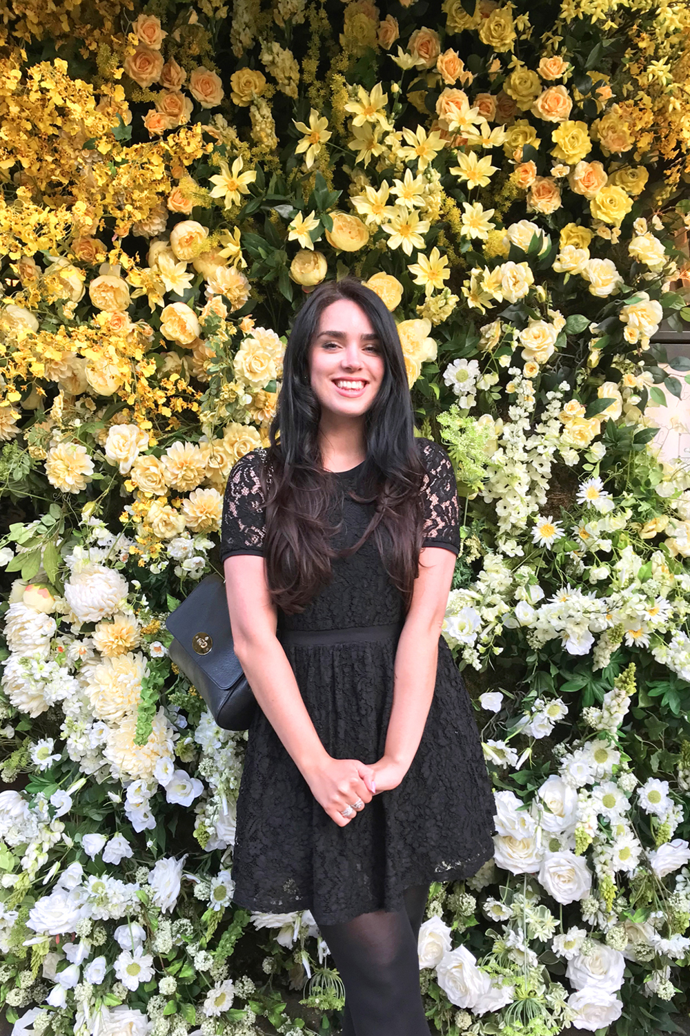 Emma Louise Layla at The Ivy Chelsea Garden during Chelsea in Bloom - London lifestyle blog