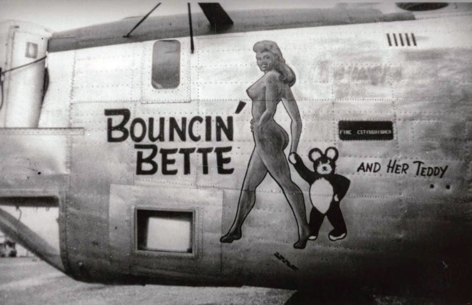 50 vintage photos of wonderful military aircraft nose art