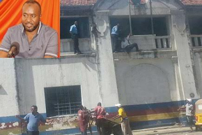 Graphic photos: Three female terrorists killed in foiled attack at Mombasa Central police station, Kenya