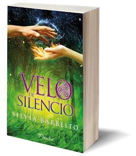 Portada del libro Velo de silencio de la autora Silvia Barbeito
