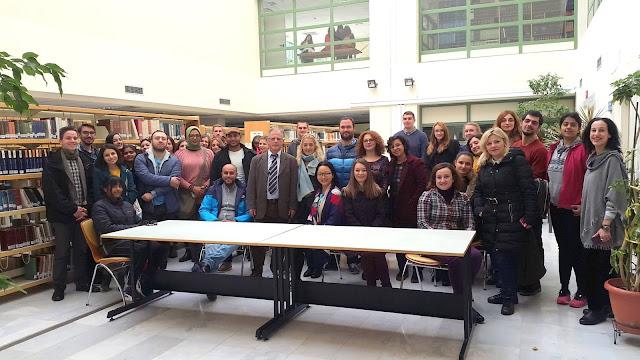 Γιάννενα: Οι σπουδαστές του Κέντρου Ελληνικής Γλώσσας ,επισκέφθηκαν την βιβλιοθήκη του Πανεπιστημίου