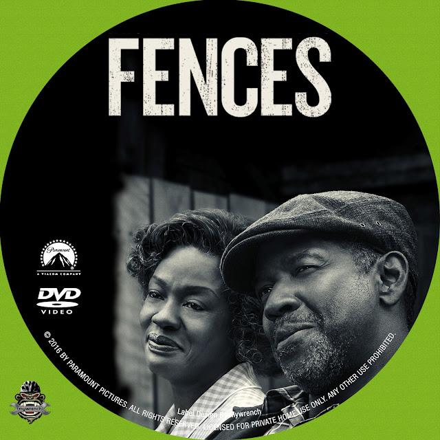 Fences DVD Label