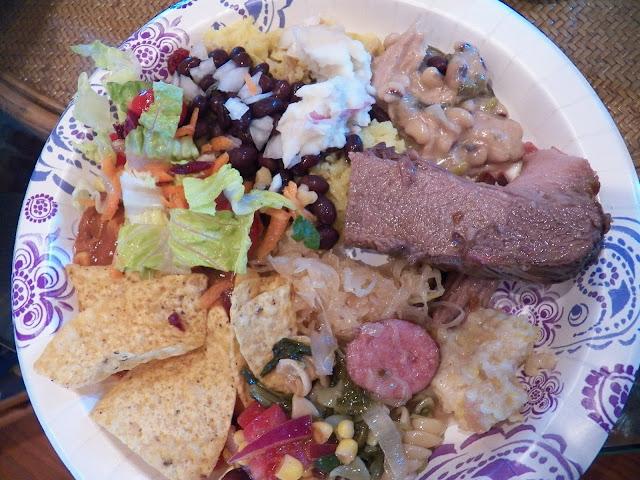 Potluck Plate