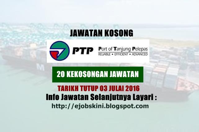 Jawatan kosong di pelabuhan tanjung pelepas julai 2016