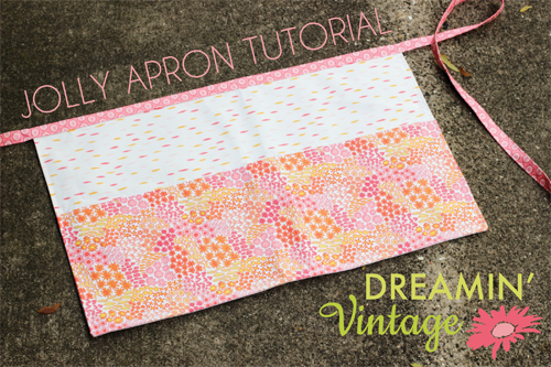 Jolly Apron Tutorial - In Color Order