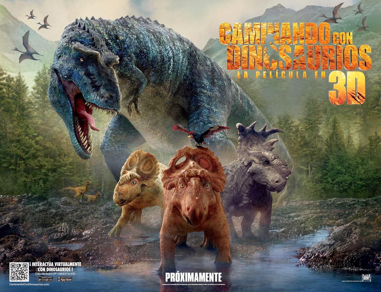 Walking With Dinosaurs 3d Wallpaper Nuevo Banner Oficial Para Latinoam 233 Rica De Caminando Con