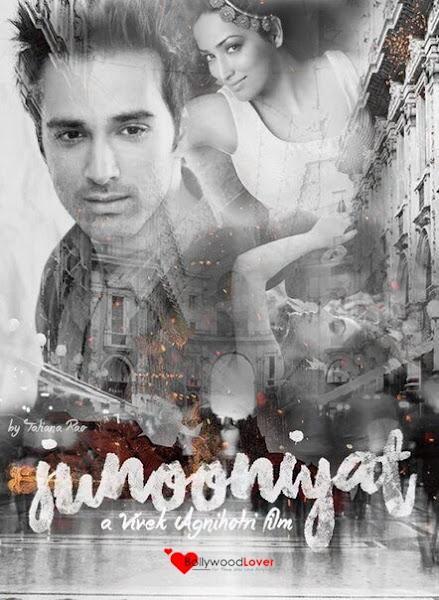 Poster Of Junooniyat 2016 480p Hindi DVDScr Full Movie Download