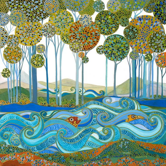 Pintura e ilustraciones de Melissa Launay