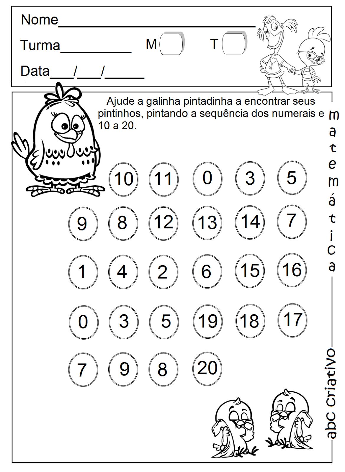 Preferência A Arte de Educar: Matemática 4 e 5 anos - Coleção ABC criativo MI31