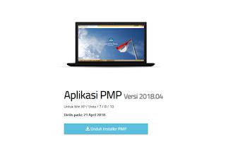 Aplikasi Pemetaan PMP 2018 Terbaru