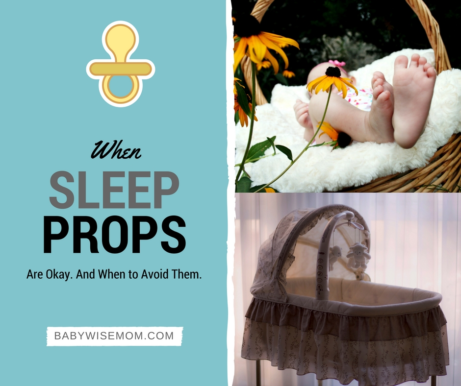 When sleep props are okay and when to avoid them