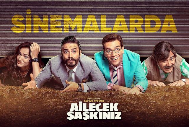 Türk Komedi Filmleri: Ailecek Şaşkınız 2018 Film İncelemesi - Kurgu Gücü