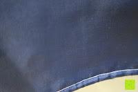 Kante: Norcho Anti-Schimmel Duschvorhang Wasserdicht Waschbar mit 12 Duschvorhangringe 200x200cm Blau Vögel