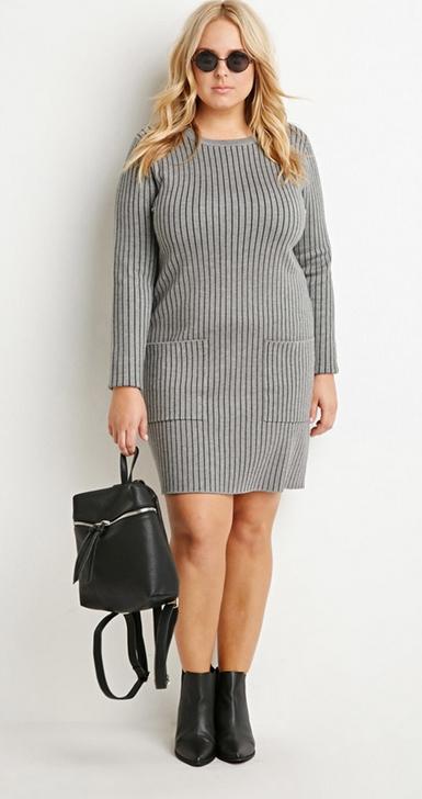 accessoiriser une robe pull grise robes populaires mod les 2018. Black Bedroom Furniture Sets. Home Design Ideas
