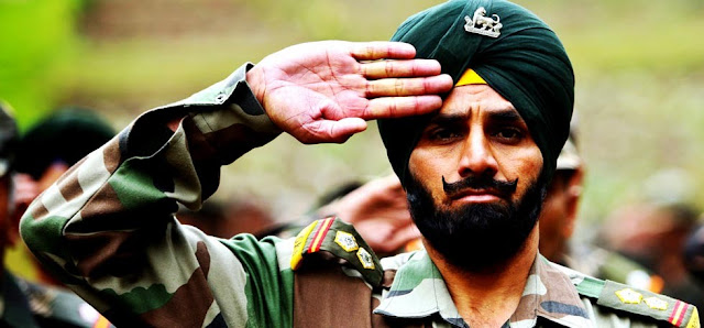 Indian army salute wallpapers