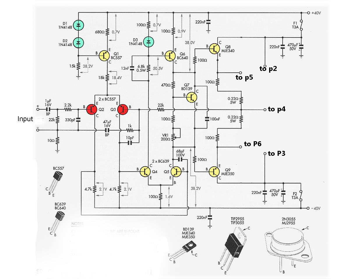 Transistor Wiring Diagram Automatic Car Battery Charger Circuit 2n3055 Mj2955 Booster Electronic