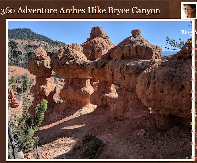 Arches Hike Bryce Canyon, Utah