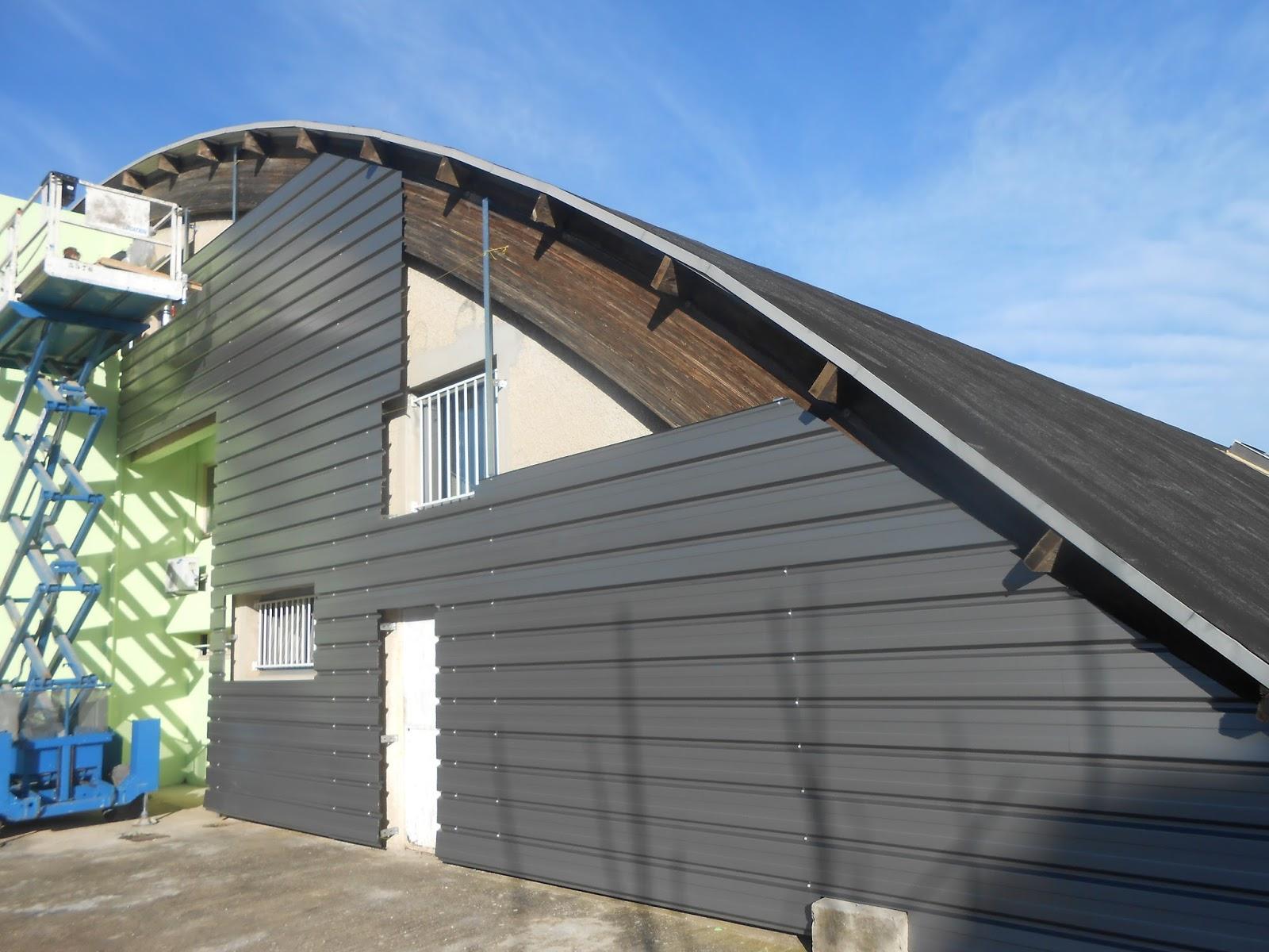 Structures metallique bardage charpente couverture for Structure metallique architecture