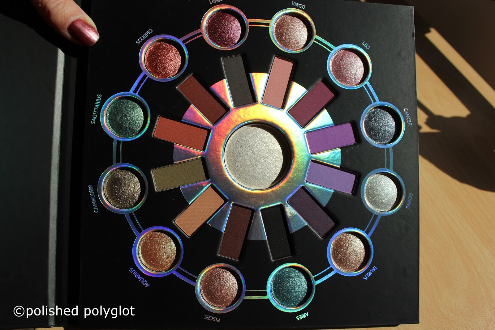 Makeup │ Bh Cosmetics Zodiac Palette Swatches Review