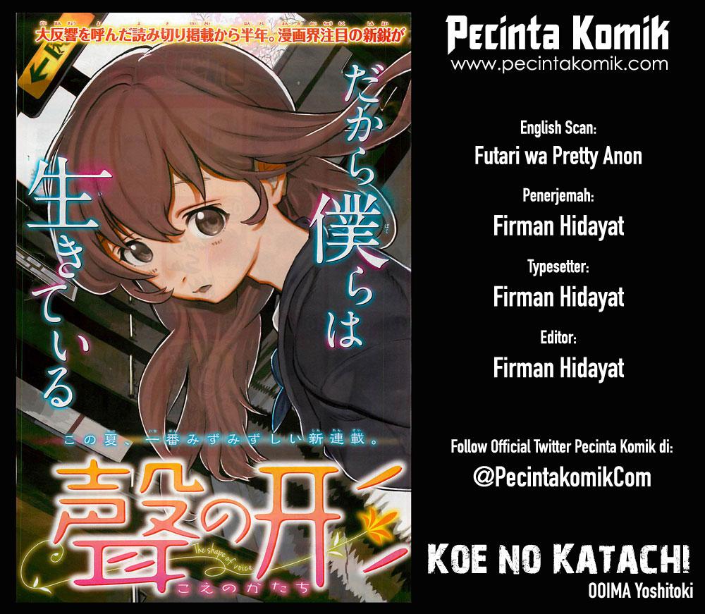 Koe no Katachi Chapter 11-1